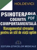 Irina Holdevici - Psihoterapia cognitiv comportamentala (1).pdf