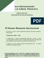 Notas de Clase No. 2, Finanzas Internacionales