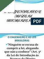 O ENGENHEIRO CIVIL E AS LEIS