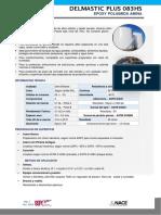 DELMASTIC PLUS 083 HS - EPOXICO REFORZADO 83 %