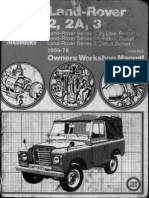 Rover Manual