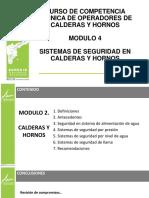 Modulo 4 Sistemas de seguridad en calderas y hornos