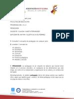 CONSULTAS- PEDAGOGÍA