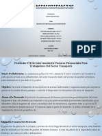 ACTV 7 presentación sobre protocolos de intervención GRP6