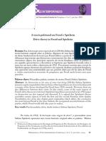 A teoria pulsional em Freud e Spielrein