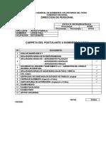 ANEXO 1 - CARPETA UNICA DEL POSTULANTE JOSUE