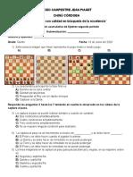 Evaluación de ajedrez 5to.docx
