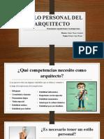 ESTILO PERSONAL DEL ARQUITECTO.pptx