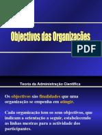 Objectivos e Recursos Da Empresa