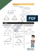 U3-S3 (Tarea) Triángulos Rectángulos y Oblicuángulos