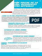 LA FUNCIÓN SOCIAL DE LA EDUCACIÓN_ REFERENTES TEÓRICOS ACTUALES