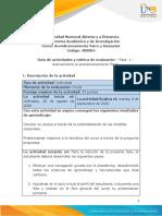 Guia de actividades y Rúbrica de evaluación - Fase 1 - Acercamiento al acondicionamiento físico