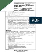 NUMERO DE LA ACTIVIDAD 11 - HITO CARPIA METESPEC TECNICAS - 12-12-2017
