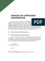 Ejercicios Indice de capacidad -Cartas de Control univariados