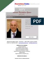 Manuel Puertollano Yudes – ABOGADO – 04800 Albox Almería España - Abogados en Albox - en Almería - Derechos - Civil General - De Familia - Penal - Mercantil - Administracion - Lawyers - Legal Representation in Almeria - Legal Rights
