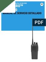 68009645001-BA-MOTOTRBO LACR DEP450 Detailed Service Manual (Latin Spanish)