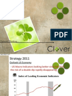 Clover Asset Management Strategy 2011