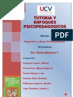 TUTORIA Y ENFOQUES PSICOPEDAGOGICOS