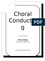 Choral conducting