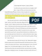 Critical Response Essay (Rough Draft) 1-1