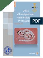 S6 - Helminthologie - Protozoologie DZVET360 Cours-vétérinaires