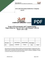 Procurements and  Commissioning Supervision of MAF CDU 80PCV2065.doc
