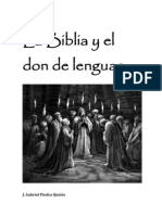 La Biblia y el don de lenguas