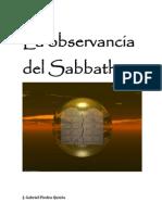 La observancia del Sabbath
