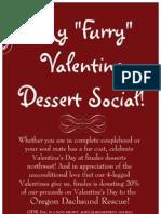 Finales Desserts NorthWest- My furry Valentine