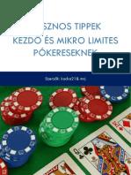 A színkódolt póker zsetonok monetáris értékei