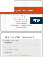 ch7_Defining Own Class