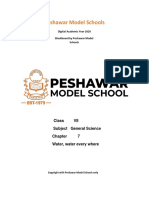 Class 7th G. Science  Chap 7