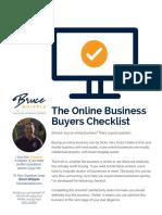 Checklist business online
