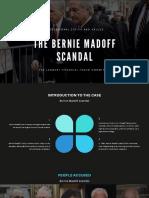 The Bernie Madoff Scandal
