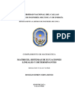 MATRICES SISTEMAS DE ECUACIONES LINEALES Y DETERMINANTES2