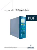 FloBoss S600 plus Field Upgrade Guide