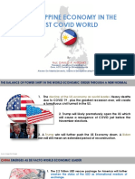 The Philippine Economy in the Post COVID World v.3