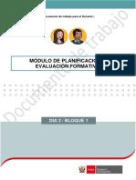 Planificacion y Evaluacion Formativa EDUCARE1 Ccesa007