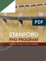 Stanford PhD