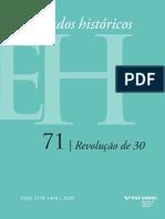 Revista Estudos Históricos - Fgv