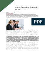EL ROL DEL GERENTE FINANCIERO AGOSTO 27 DE 2020
