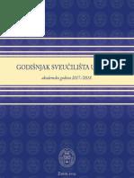 Godišnjak Sveučilišta u Zadru - akademska godina 2017./2018.