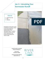 storm water calculation