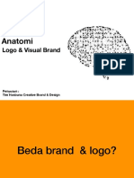 Anatomi logo visual branding