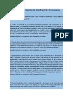 Casos sobre la Constitución de la República de Guatemala