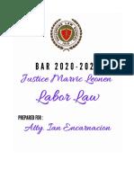 Justice Leonen Labor Law Case Digest.doc