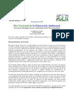 Dia Nacional de La Educacion Ambiental