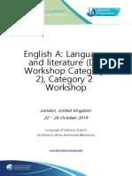 Activity Workbook IBICUS LangLit October 2019