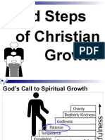 Patience  as Solid Step to christian Growth.ppt