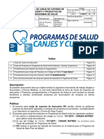ISCOMER - 05 - 01 MANUAL CANJE CUPONES DE DESCUENTO Y PRODUCTOS EN PROGRAMAS DE SALUD v.1.5 28-02-2020